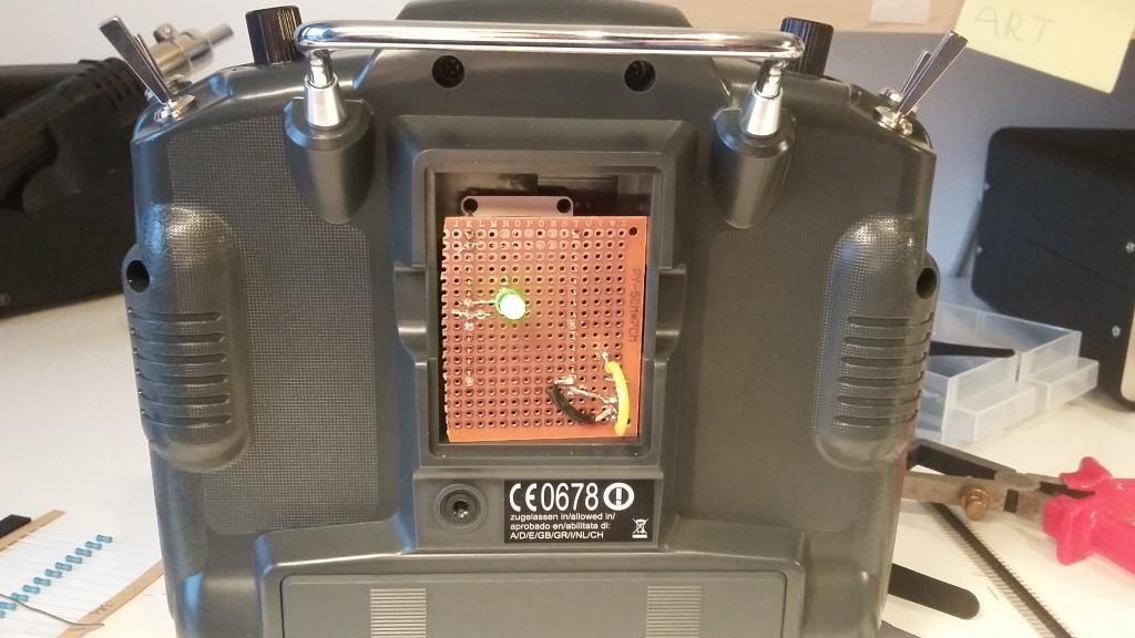 Proto module in a Turnigy 9X.